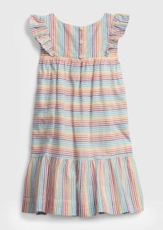 Gap Toddler Rainbow Stripe Dress