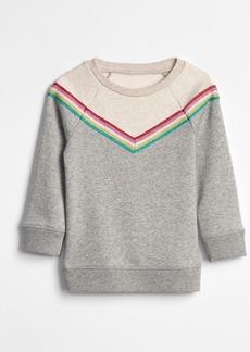 Gap Toddler Rainbow Tunic Sweatshirt