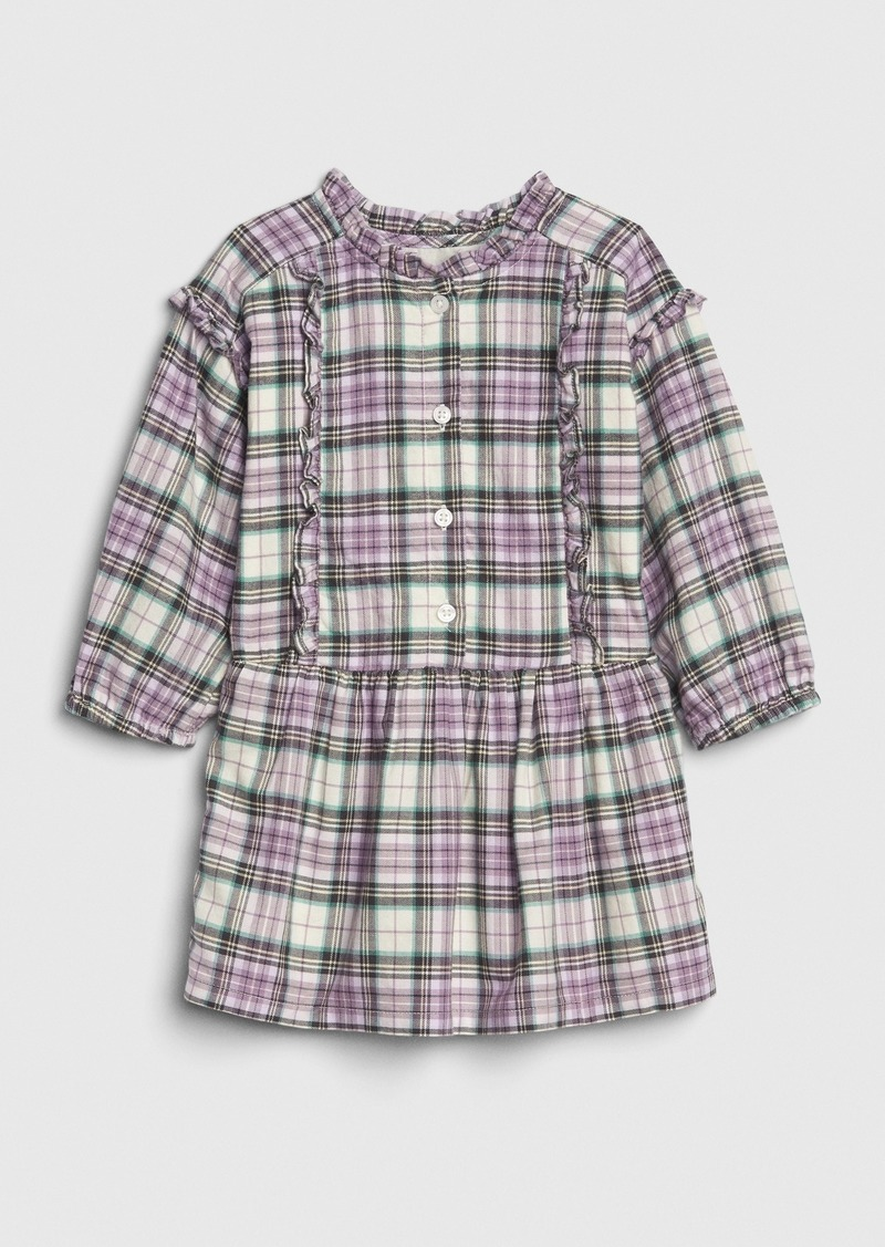 Gap Toddler Ruffle Plaid Dress