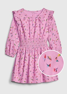 Gap Toddler Ruffle Smock-Waist Dress