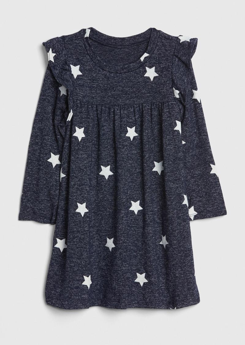 Gap Toddler Ruffle Softspun Dress