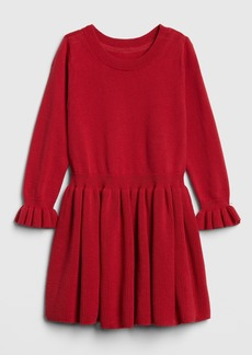 Gap Toddler Ruffle Sweater Dress
