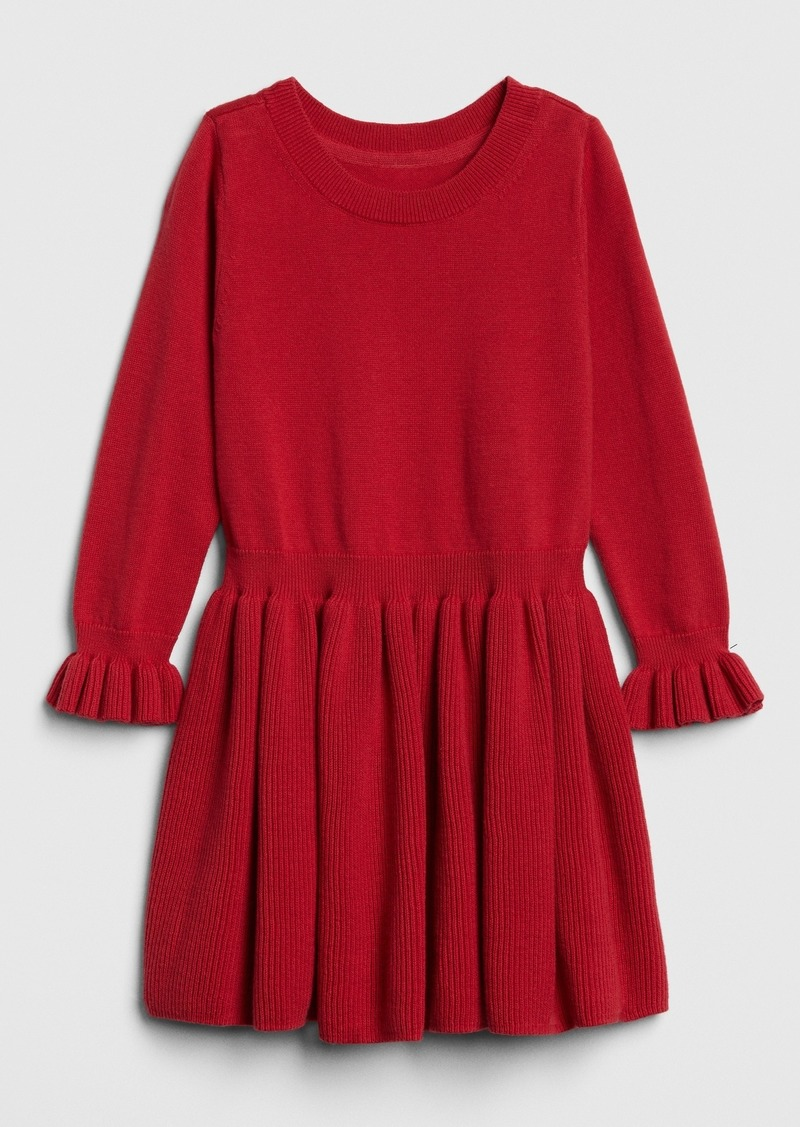 Gap Toddler Ruffle Sweater Dress