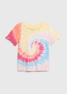 Gap Toddler 100% Organic Cotton Ruffle T-Shirt