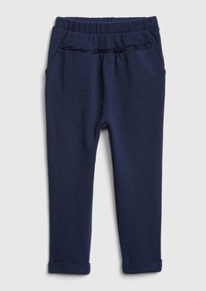 Gap Toddler Ruffle-Trim Joggers In French Terry