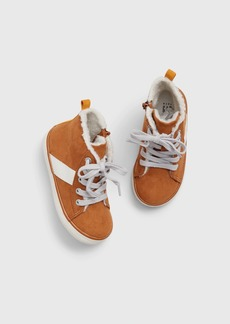 Gap Toddler Sherpa Hi-Top Sneakers