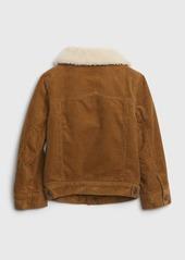 Gap Toddler Sherpa Lined Cord Jacket