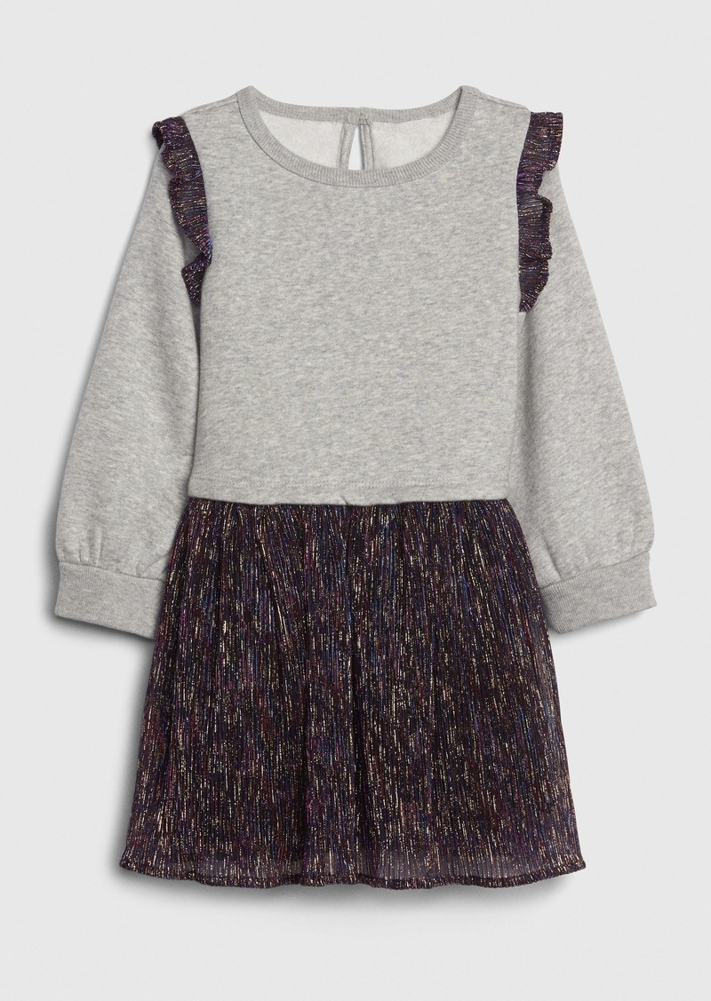 Gap Toddler Shimmer Mix-Media Dress