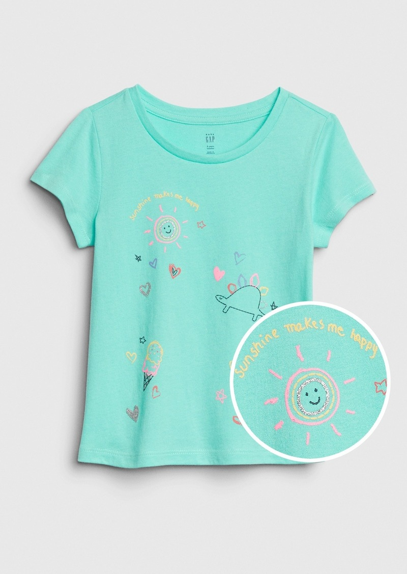 Gap Toddler Short Sleeve Graphic T-Shirt
