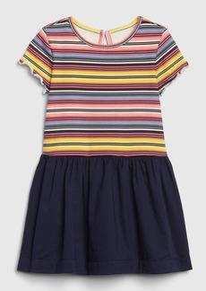 Gap Toddler Short Sleeve Mix-Media Dress