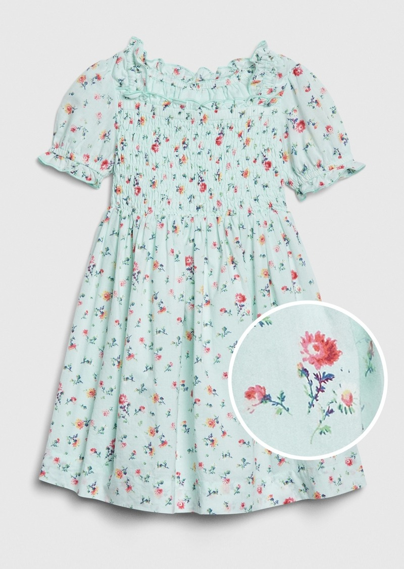 Gap Toddler Smocked Floral Dress