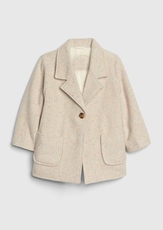 Gap Toddler Speckle Sherpa-Lined Coat