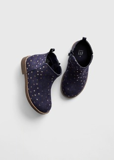 Gap Toddler Star Faux-Suede Booties