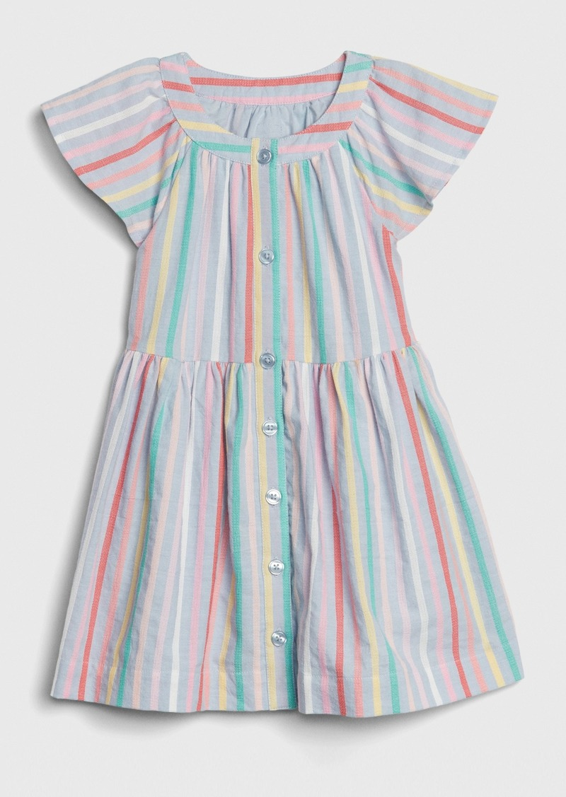Gap Toddler Stripe Flutter Shirtdress