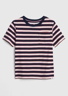 Gap Toddler Stripe Pocket Short Sleeve T-Shirt