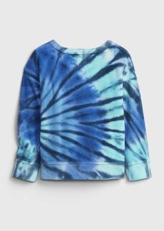 Gap Toddler Tie-Dye Crewneck Sweatshirt