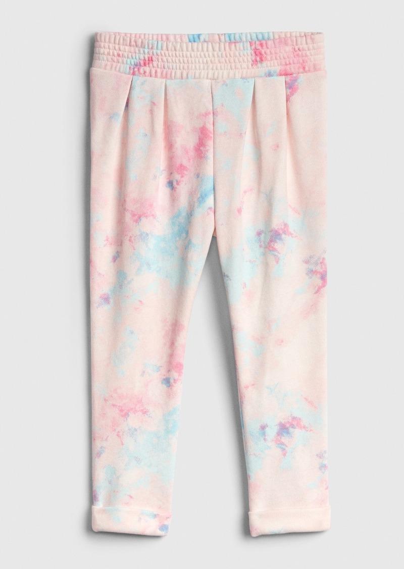 Gap Toddler Tie-Dye Pleat Pants