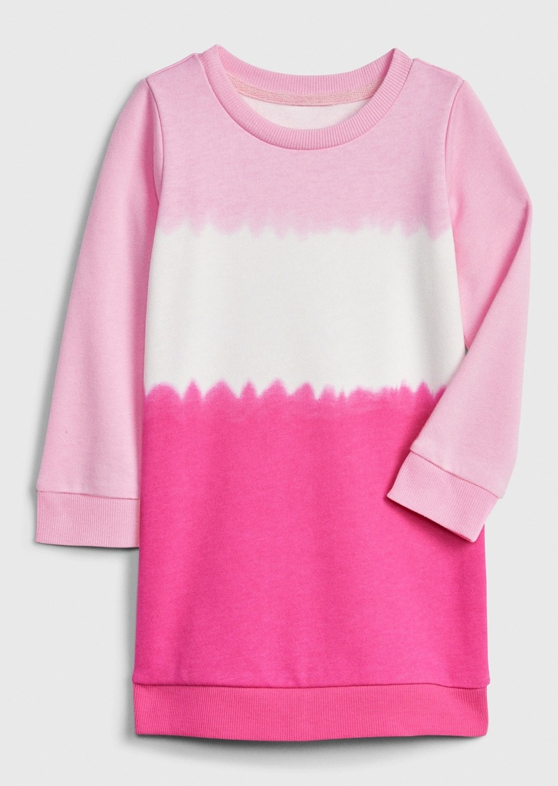 Gap Toddler Tie-Dye Sweatshirt Dress