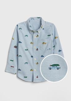 Gap Toddler Truck Oxford Shirt