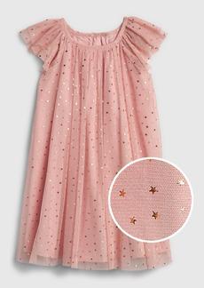 Gap Toddler Tulle Star Flutter Dress