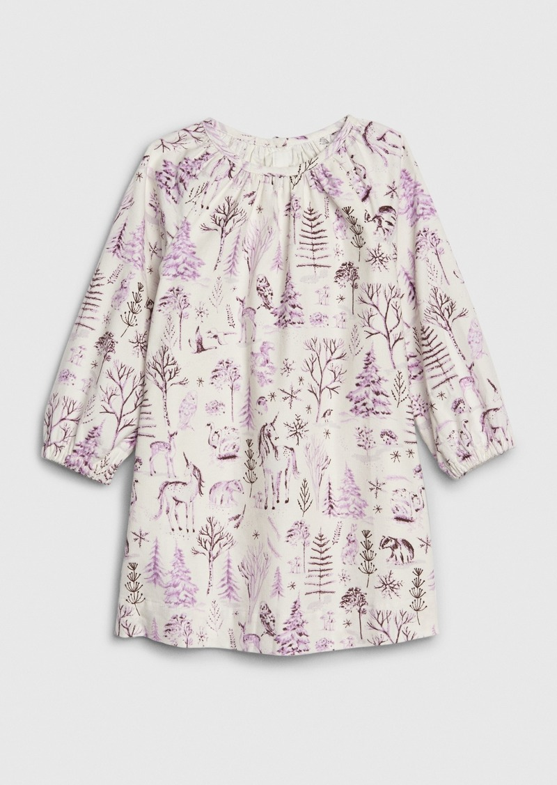 Gap Toddler Unicorn Cord Dress