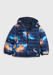 Gap Toddler Upcycled Lightweight Reversible Puffer Jacket