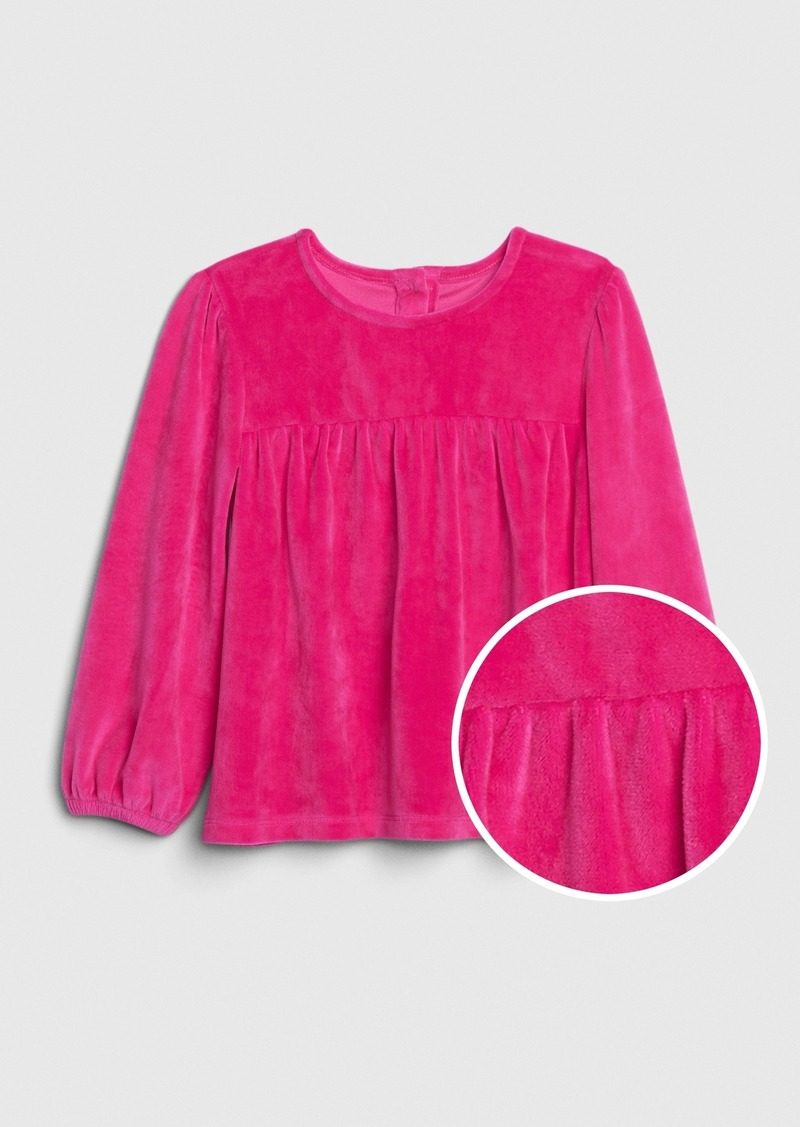 Gap Toddler Velour Empire Top