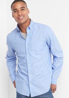 Gap True wash poplin button-down standard fit shirt