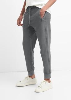 Gap Twill Knit Zip Joggers