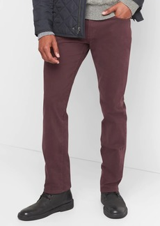 Twill Pants in Slim Fit with GapFlex