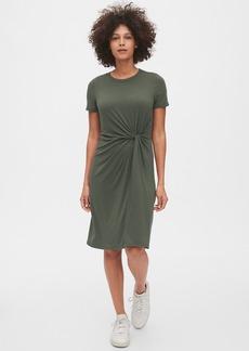Gap Twist-Knot Dress in TENCEL&#153