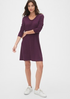 Gap U-Neck Swing Dress