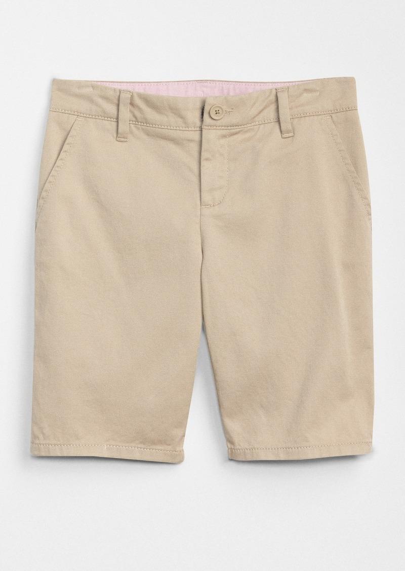Gap Kids Uniform Bermuda Chino Shorts