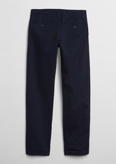 Gap Kids Uniform Stain-Resistant Chinos in Stretch