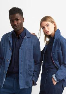 Unisex Khadi denim work jacket