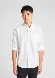 Gap Untucked Oxford Shirt in Stretch