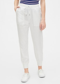 Gap Utility Jogger in Linen-Cotton