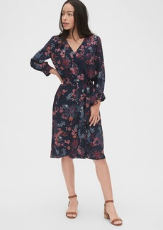 Gap V-Neck Midi Shirtdress