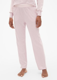 Gap Velour-Trim Lounge Pants