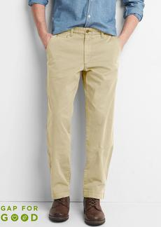 Vintage Wash Khakis in Relaxed Fit with GapFlex