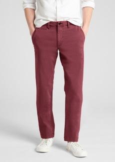 Vintage Wash Khakis in Slim Fit with GapFlex