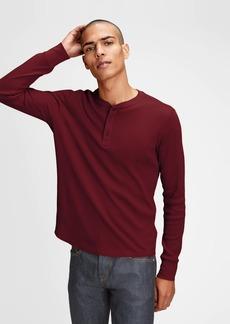 Gap Waffle Henley T-Shirt