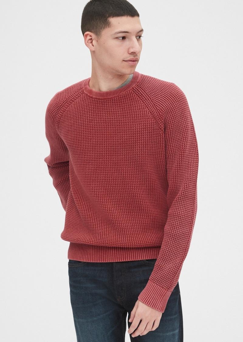 Gap Waffle-Knit Sweater