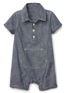 Gap Wearlight Chambray Shorty One-Piece