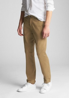 Wearlight Khakis in Slim Fit with GapFlex