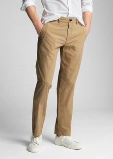 Wearlight Khakis in Straight Fit with GapFlex