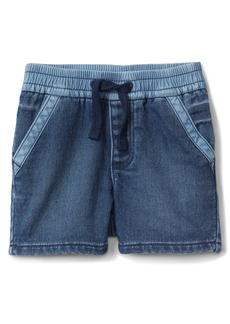 Gap Wearlight Pull-On Denim Shorts