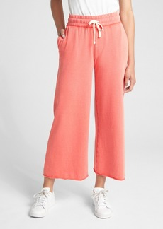 Gap Wide Drawstring Pants in French Terry
