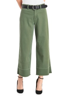 Gap Wide-leg crop high rise chinos