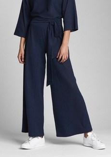 Gap Wide-Leg Textured Knit Pants